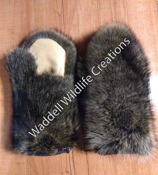 Raccoon Mittens