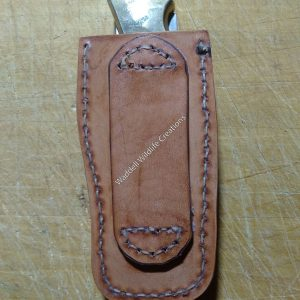 Buck 110 Knife Sheath-Belt Type - Back