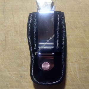 Buck 110 Knife Sheath-Clip - Back