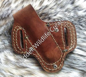 Buck Knife Sheath with Snap - Back