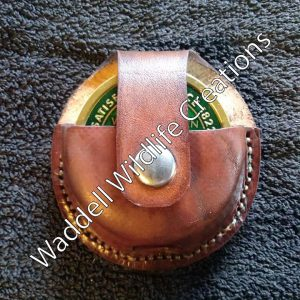 Custom Leather Chew Holster