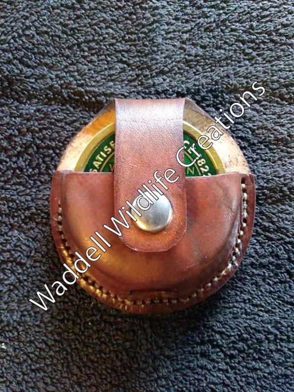 Custom Leather Chew Holster