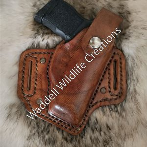 Slant Style Holster with Rivets