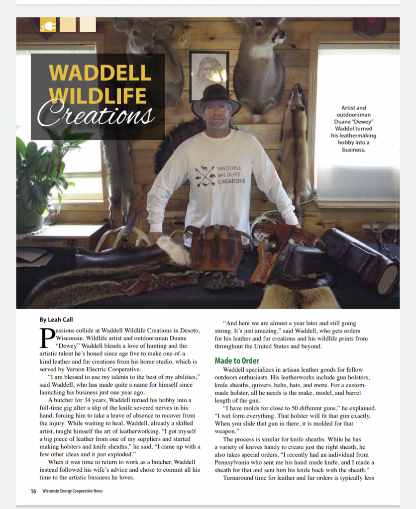 Published in Wisconsin Energy Cooperative News